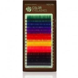 Extensiones de Pestañas Color