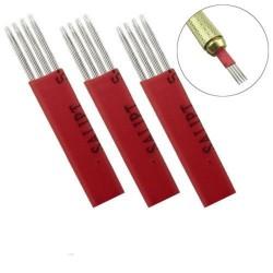 Agujas microblading 4G para sombreado 4 grupos