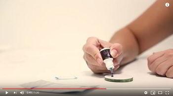 Video Come lavorare e preservare la colla per extension ciglia